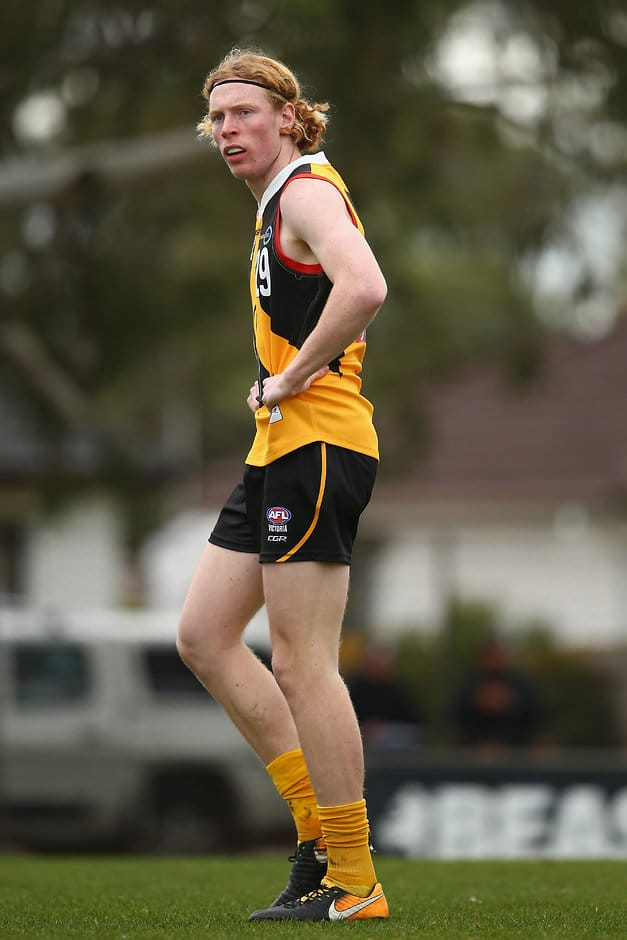 Dandenong Stingrays' Bailey Williams has mixed time in the ruck with forward duties - AFL,Under-18s,Draft Combine
