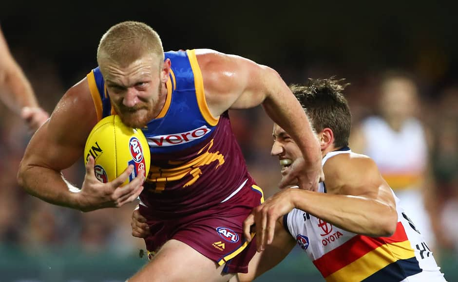 Nick Robertson was never afraid of a contest - AFL,Brisbane Lions,Nick Robertson,Delistings,Retirements