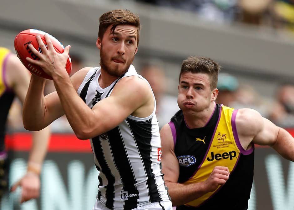 Collingwood has opened contract talks with wingman Tom Phillips - AFL,Collingwood Magpies,Contracts,Tom Phillips