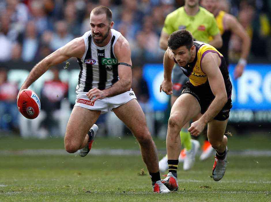 For most of the match, Collingwood showed they could mix it with the Tigers - AFL,After the Siren