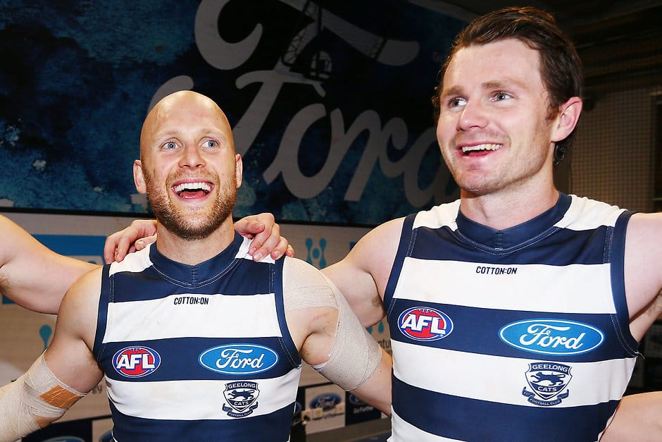 Gary Ablett and Patrick Dangerfield both only need one team to complete the set - AFL,Geelong Cats,Gary Ablett,Patrick Dangerfield,Brownlow