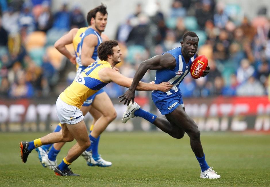 Majak Daw was a revelation in defence - AFL,North Melbourne Kangaroos,Majak Daw