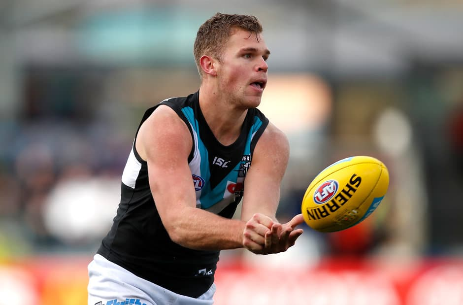 Dan Houston has extended his deal with the Power - AFL,Port Adelaide Power,Dan Houston,Contracts