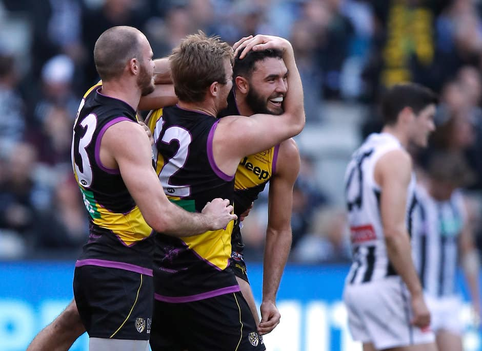 Who will book a spot in the 2018 Grand Final? - AFL,Player Ratings,Richmond Tigers,Collingwood Magpies,MCG