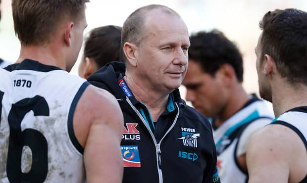 AFL 2018 Round 22 - Collingwood v Port Adelaide