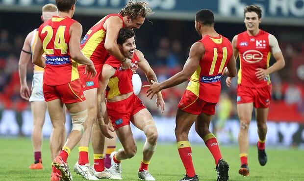 AFL 2018 Round 22 - Gold Coast v Brisbane