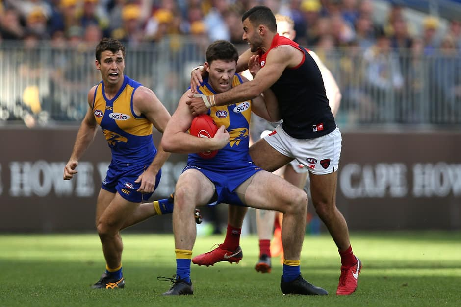 Jeremy McGovern is the highest ranked Eagle - AFL,West Coast Eagles,Melbourne Demons,Player Ratings