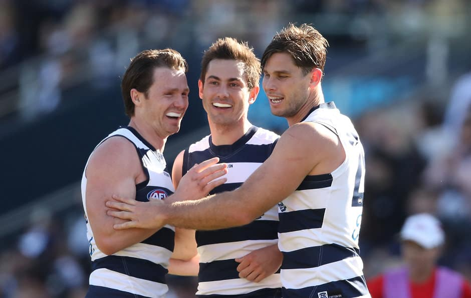 Daniel Menzel is expected to be playing with the Swans in 2019 - AFL,Daniel Menzel,Sydney Swans,Geelong Cats,Trade,Contracts