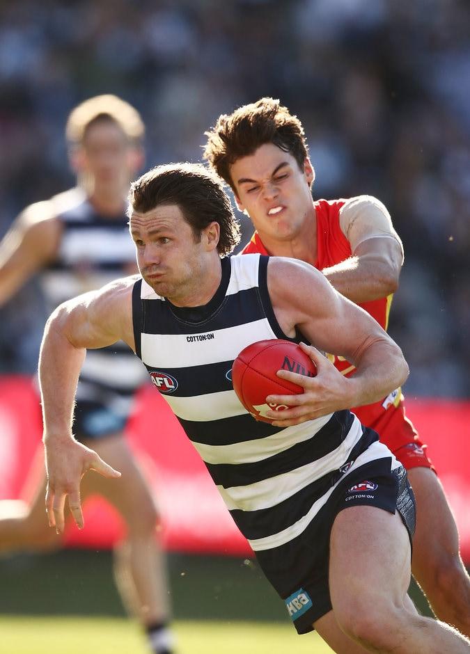 Patrick Dangerfield was back to his best - AFL,Geelong Cats,Chris Scott