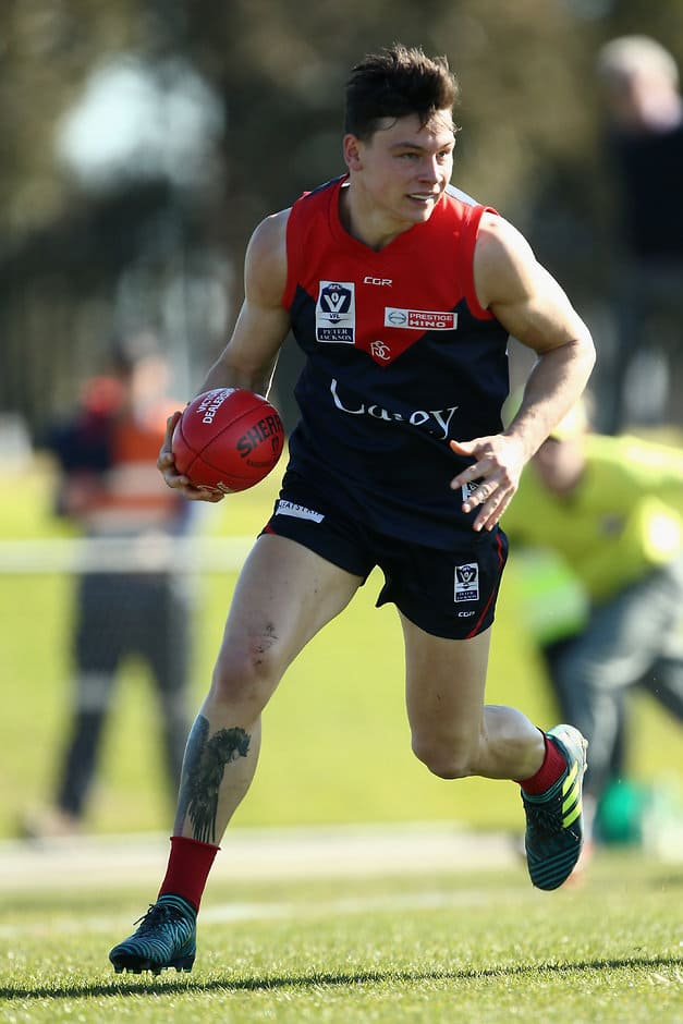 Dion Johnstone will miss the VFL Grand Final if he accepts ban for striking - AFL,VFL,Dion Johnstone,Melbourne Demons