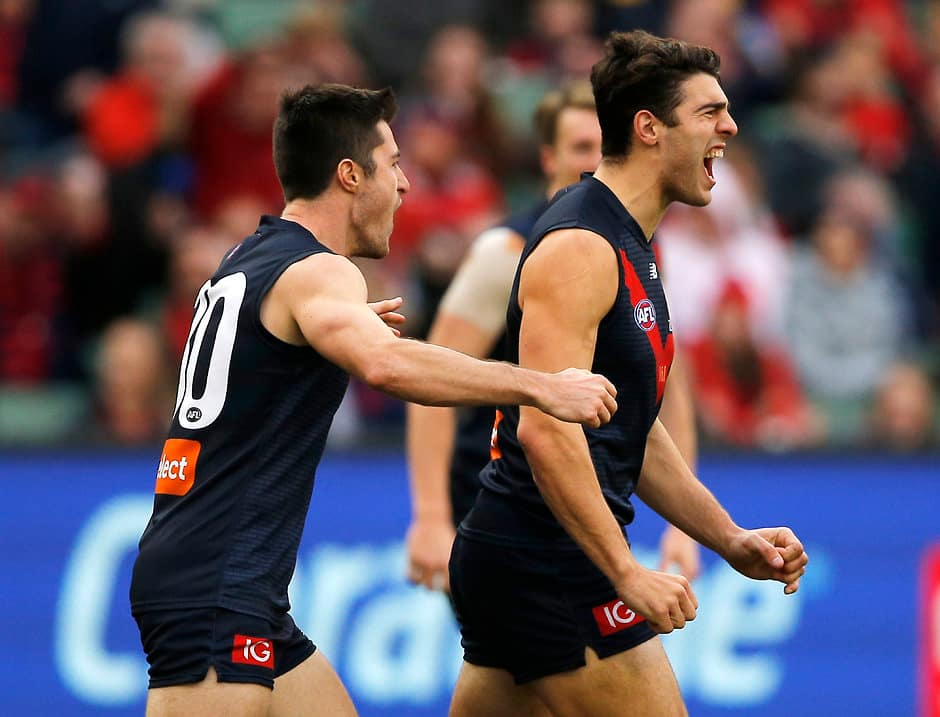Christian Petracca is one of the new-generation Dees that has given Melbourne a harder edge - AFL,Melbourne Demons,Clayton Oliver,Jack Viney,Angus Brayshaw,Christian Petracca,James Harmes