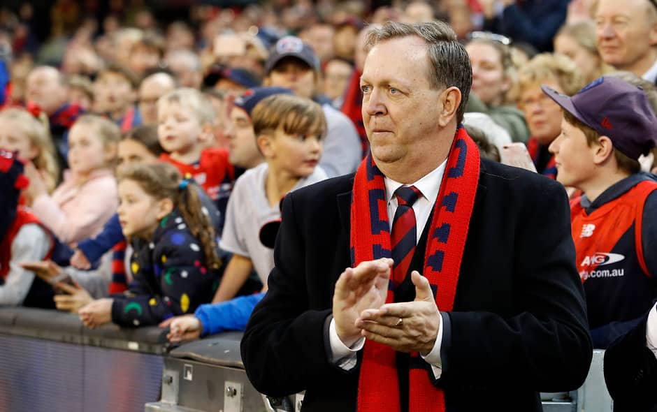 Glen Bartlett has presided over the Melbourne Football Club for the past five years - AFL,Melbourne Demons
