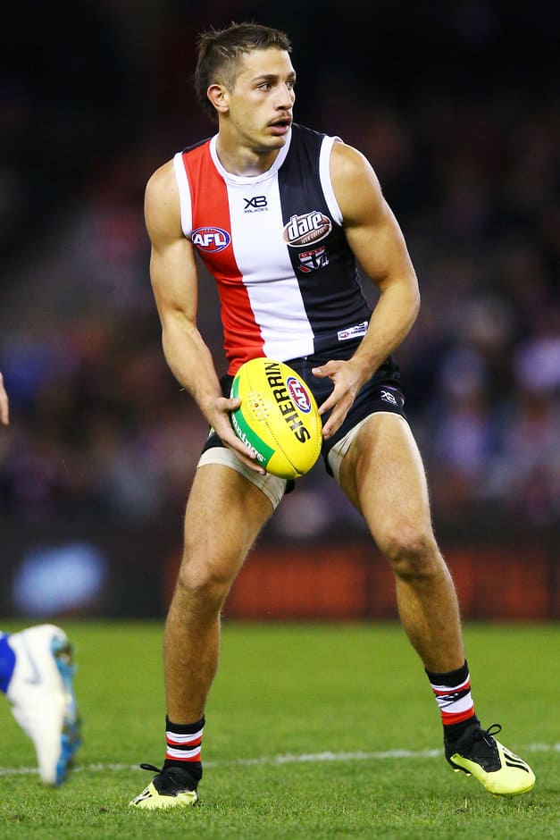Ben Long's name has been raised in trade discussions this week - AFL,St Kilda Saints,Ben Long,Essendon Bombers,Melbourne Demons,Trade,Contracts