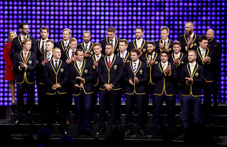 Shock skipper for 2018 All Australian team