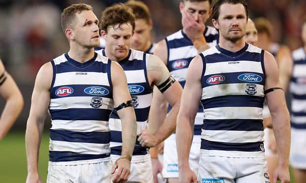 Geelong has already begun to review its list, coaching and strategy.  - Geelong Cats
