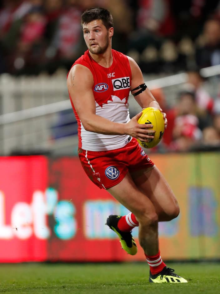 Nic Newman could be headed to North Melbourne in the off-season - AFL,Trade,North Melbourne Kangaroos,Sydney Swans,Nic Newman