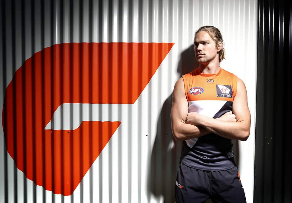 Harry Himmelberg has been an ever-present in the Giants forward line this season - AFL,Harry Himmelberg,GWS Giants