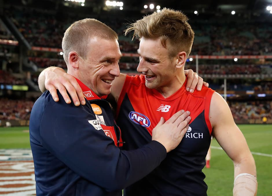 Demons coach Simon Goodwin has built an open and honest relationship with his players - AFL,Melbourne Demons,Simon Goodwin