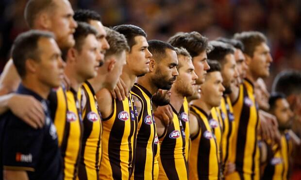 AFL 2018 First Semi Final - Hawthorn v Melbourne