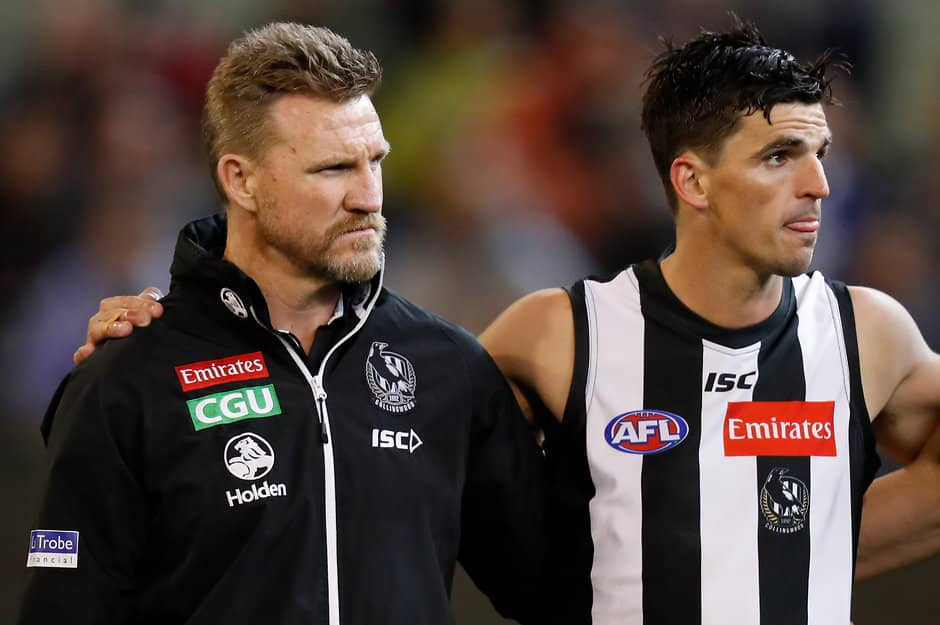 Nathan Buckley and Scott Pendlebury are two of Collingwood's greatest players - AFL,Collingwood Magpies,Nathan Buckley,Scott Pendlebury