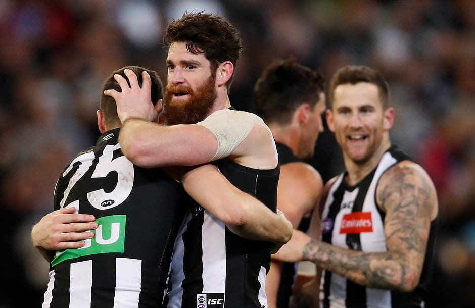 The Magpies' unheralded defence has been standing up under adversity - AFL,Stats Files,Collingwood Magpies,column,Tom Langdon,Tyson Goldsack,Brayden Maynard,Jeremy Howe,Darcy Moore,James Aish,Sam Murray