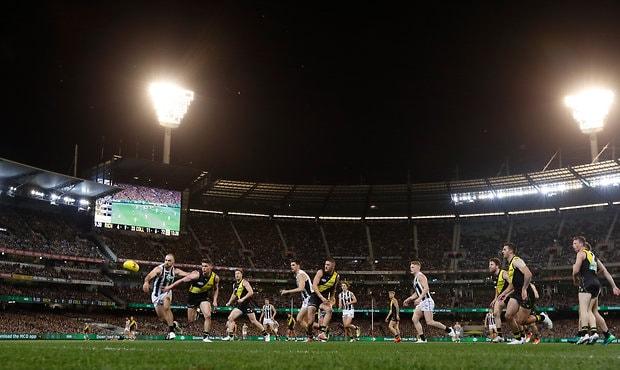 AFL 2018 First Preliminary Final - Richmond v Collingwood
