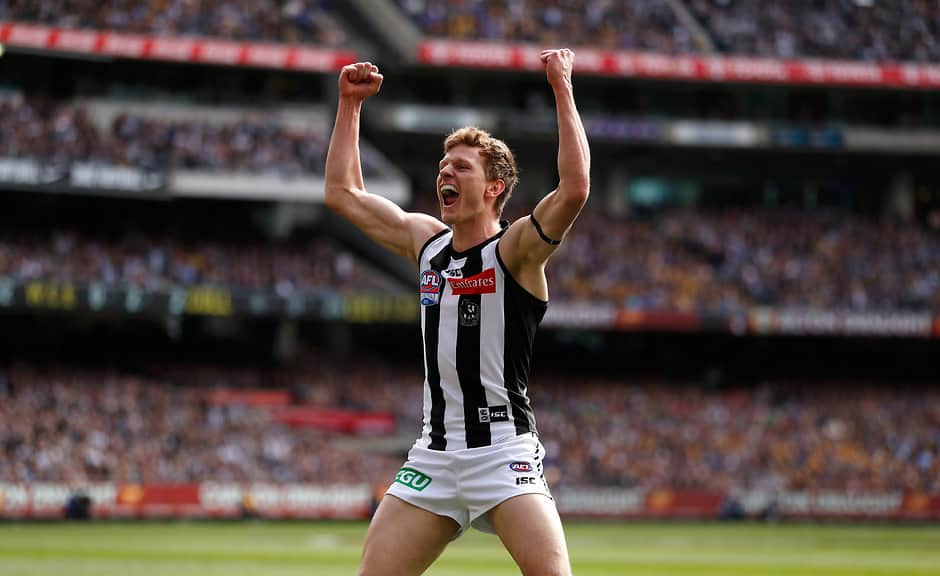 Will Hoskin-Elliott will play his first game since the 2018 Grand Final - Collingwood Magpies