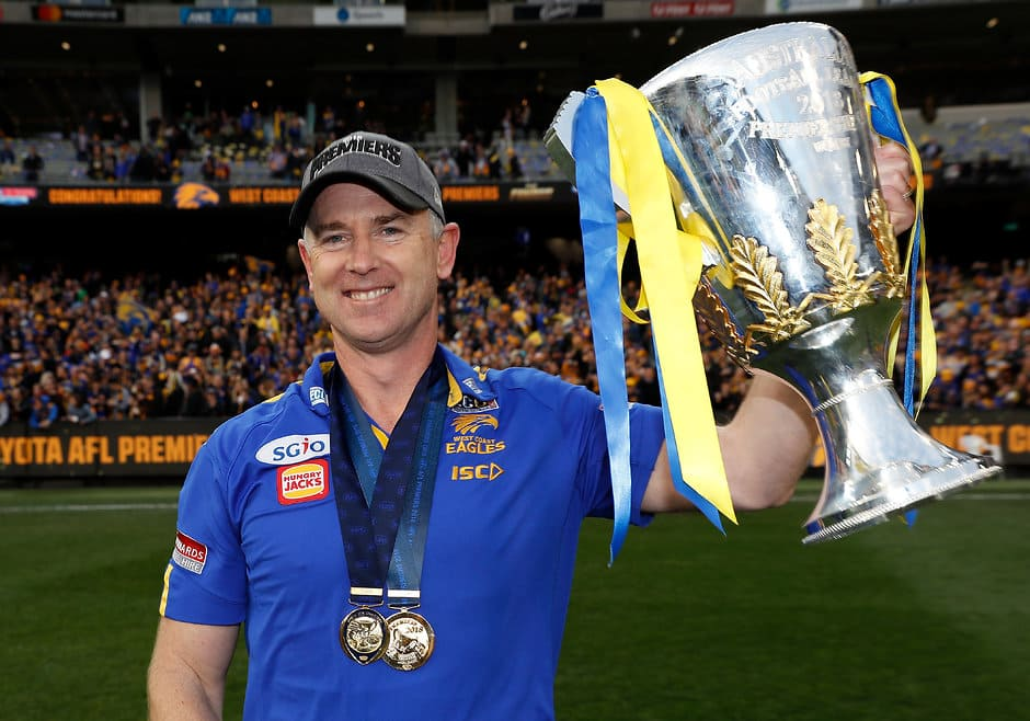 Premiership coach Adam Simpson - AFL