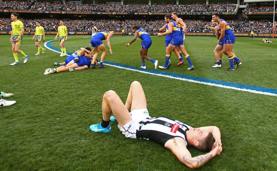Saving the best for last. The Grand Final delivered one of the best matches of 2018 - AFL,West Coast Eagles,Port Adelaide Power,Geelong Cats,Melbourne Demons,Collingwood Magpies