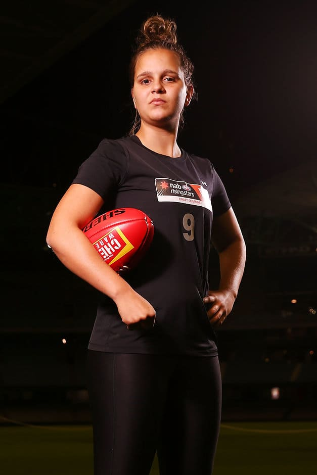 Danielle Ponter at the AFLW Draft Combine - AFLW,AFLW Draft,AFLW Draft Combine