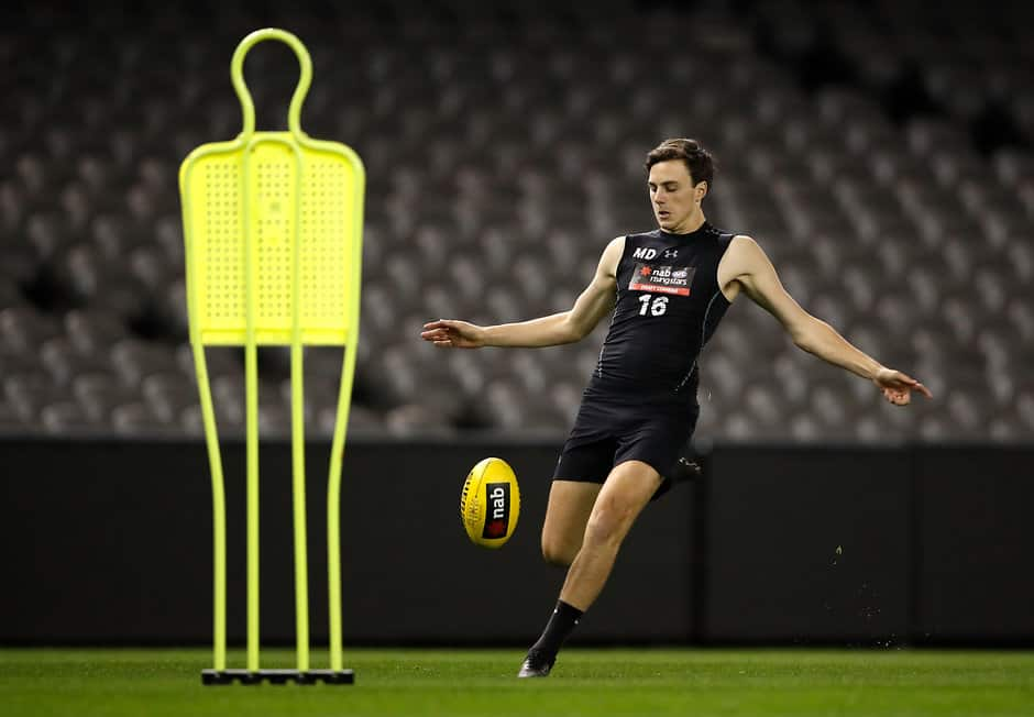 Jordan Clark has leapt up from No.17 to No.10 - AFL,Draft,AFL Academy,Draft Combine