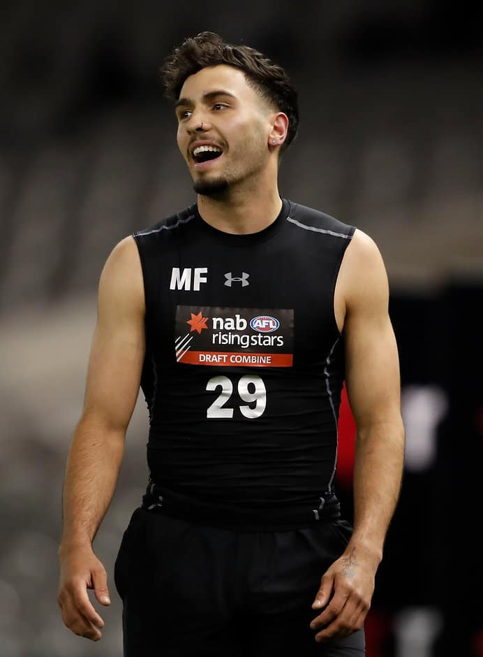 Izak Rankine excelled at the Combine - AFL,Draft Combine,Under-18s