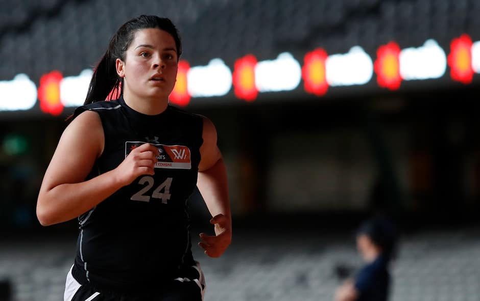 Madison Prespakis in action at the AFLW Draft Combine - AFLW,AFLW Draft