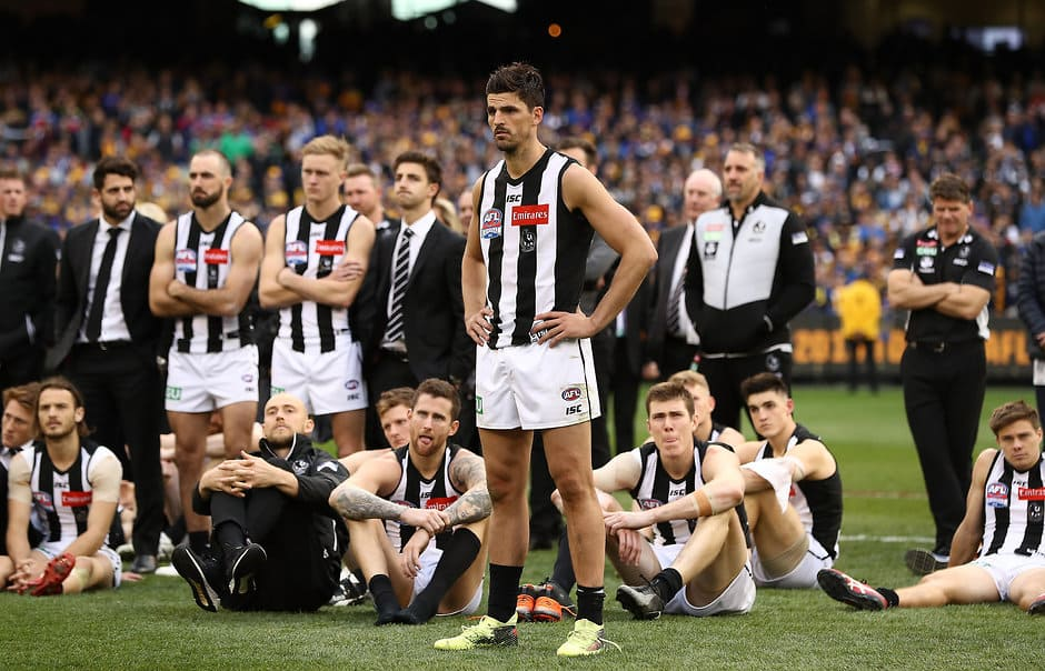 The Magpies have the competition's second oldest list - AFL,Draft,Trade,Adelaide Crows,Brisbane Lions,Carlton Blues,Collingwood Magpies,Essendon Bombers,Fremantle Dockers,Geelong Cats,Gold Coast Suns,GWS Giants,Hawthorn Hawks,Melbourne Demons,North Melbourne Kangaroos,Port Adelaide Power,Richmond Tigers,St Kilda Saints,Sydney Swans,West Coast Eagles,Western Bulldogs