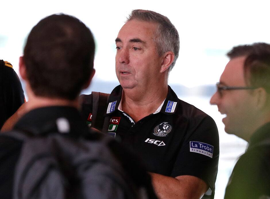 The Pies' recruiting team is led by Derek Hine - Collingwood Magpies