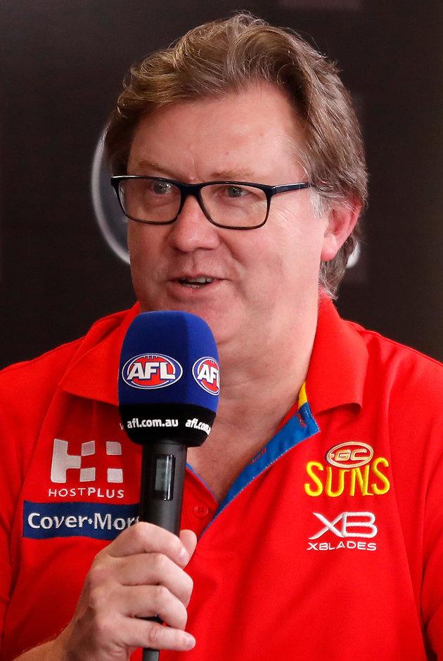 Craig Cameron faces media on deadline day - AFL,Gold Coast Suns,Trade