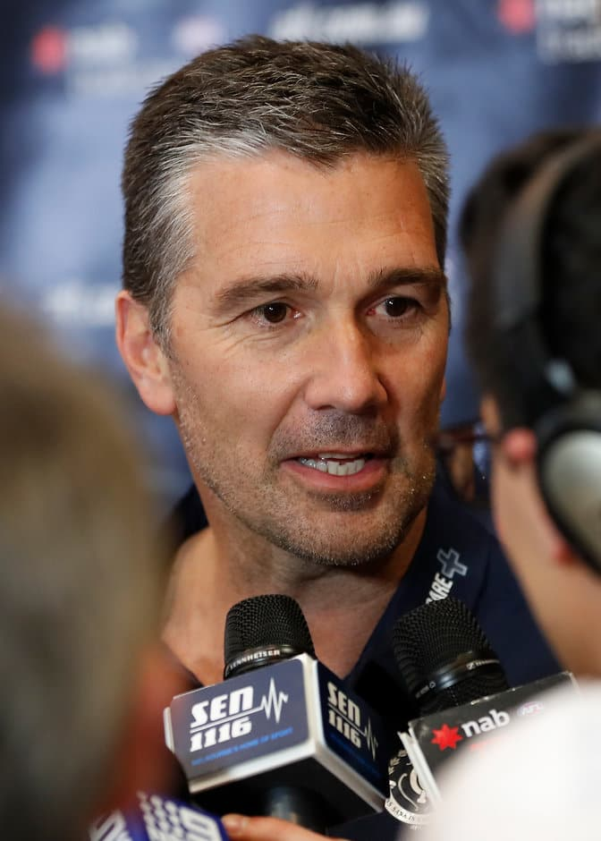 Stephen Silvagni and the Blues were active in the trade period - AFL,Carlton Blues,Draft,Stephen Silvagni