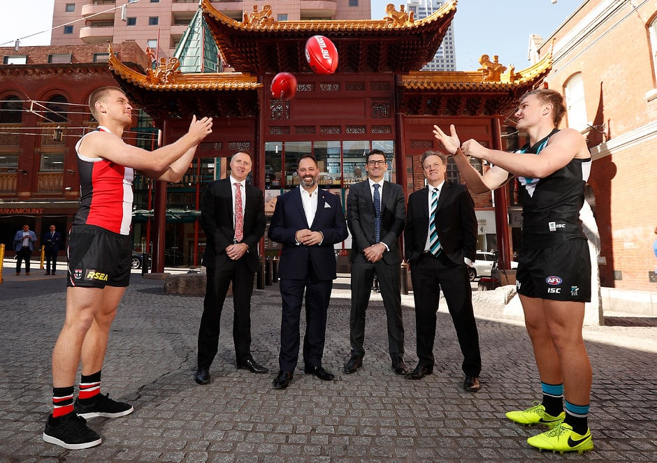 St Kilda and Port Adelaide will play in China in round 11 - AFL,Tag-AFL HQ