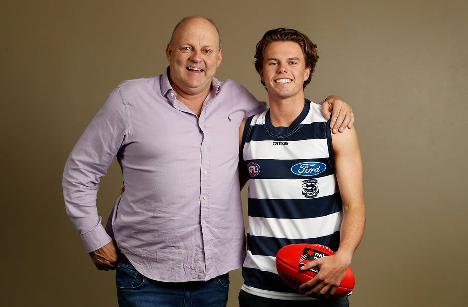 Billy Brownless admits he had his doubts over whether Oscar could make it to the big time - AFL,Geelong Cats,Draft