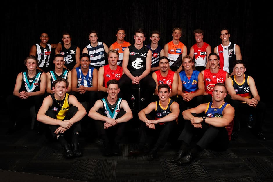 The first round picks from the 2018 NAB AFL Draft - AFL,Draft,GWS Giants