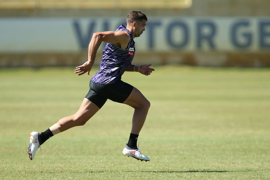Stephen Hill has had surgery on his troublesome right quad - AFL,Fremantle Dockers,Stephen Hill