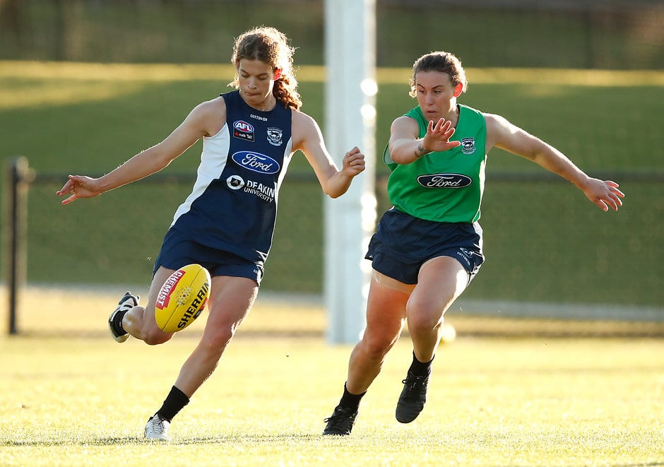 Nina Morrison underwent scans this morning which confirmed a rupture to her right ACL - Geelong Cats,Nina Morrison