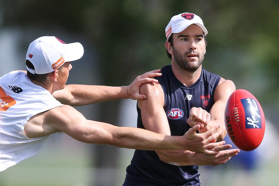Jordan Lewis is a late out for the Dees - AFL,Melbourne Demons,Port Adelaide Power