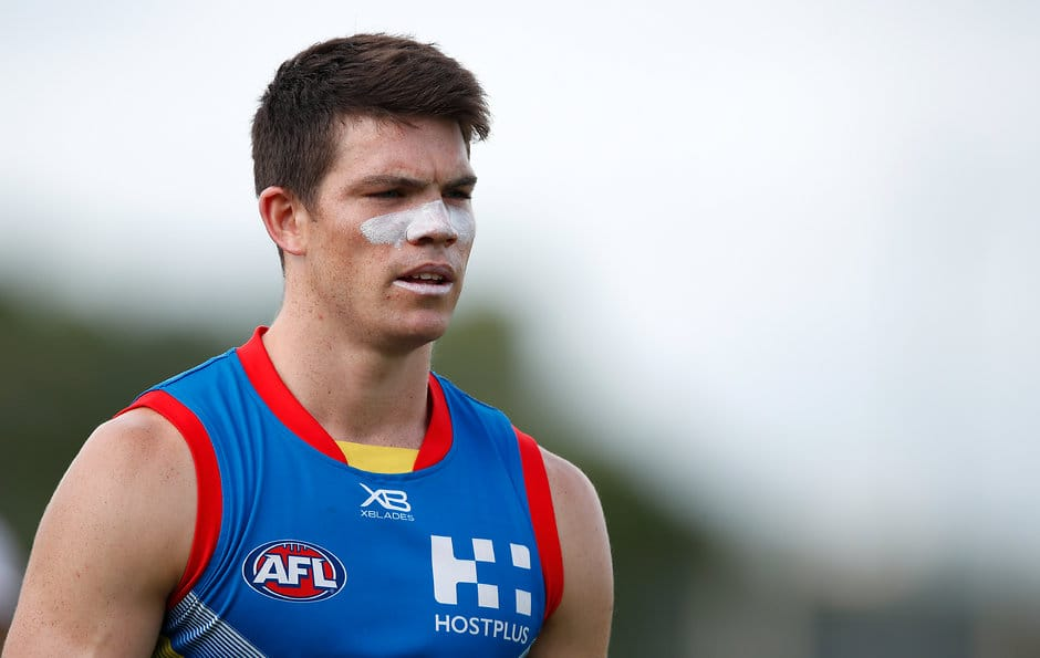 Sam Collins will miss six weeks with a leg injury - AFL,Gold Coast Suns,Sam Collins,Injuries