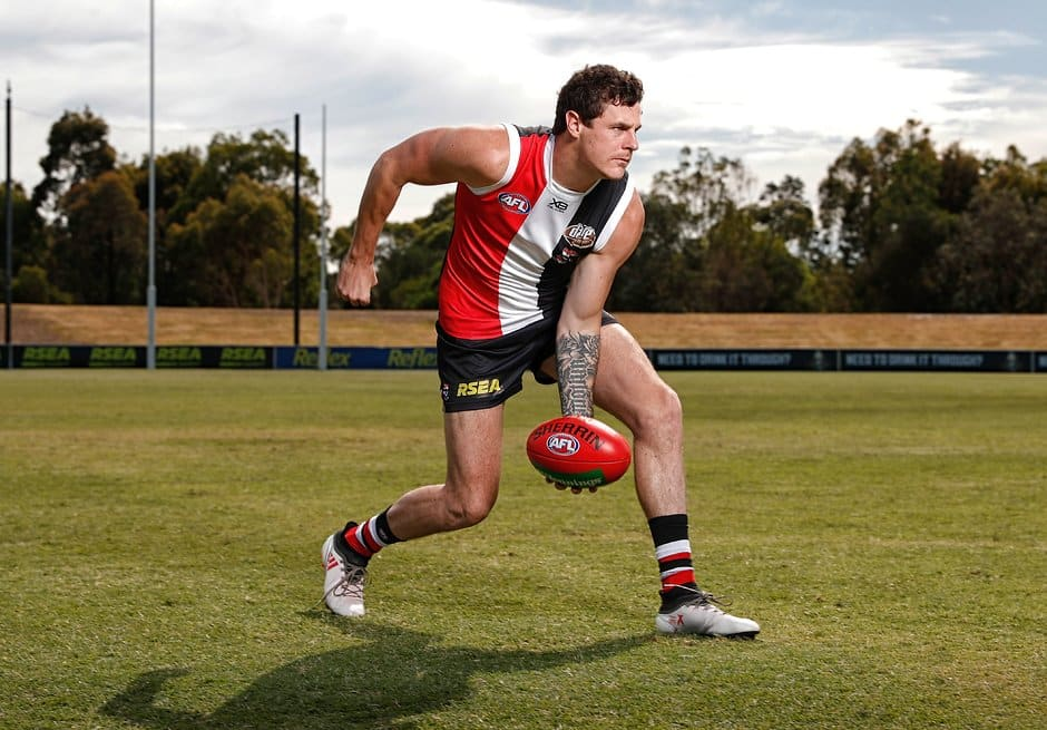 Jake Carlisle is one of two key defenders set make their return to football this weekend. - St Kilda Saints,Jake Carlisle,Jimmy Webster,Sam Rowe