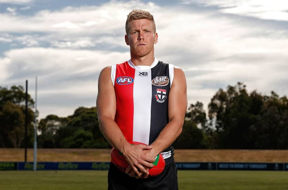 A pair of star Saints sit at the top of the pile on the selection table. - St Kilda Saints,In the Mix,Dan Hannebery,Jake Carlisle