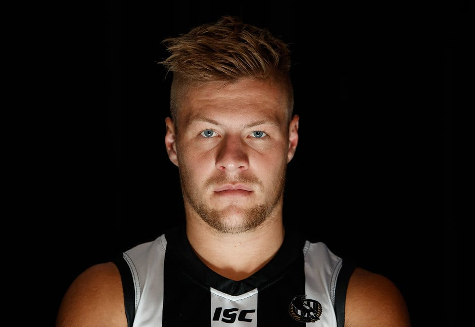 Jordan De Goey has been cleared of major damage to his ankle - Collingwood Magpies