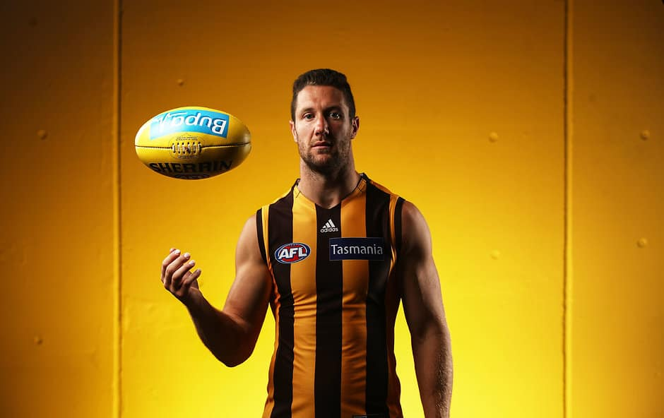 James Frawley is a late out for the Hawks - AFL,GWS Giants,Carlton Blues,Gold Coast Suns,Port Adelaide Power,Richmond Tigers,Hawthorn Hawks