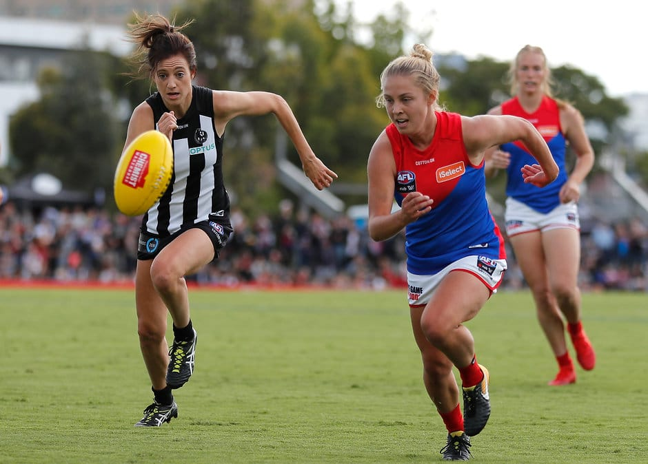 Steph Chiocci is back to take on the Demons - Collingwood Magpies