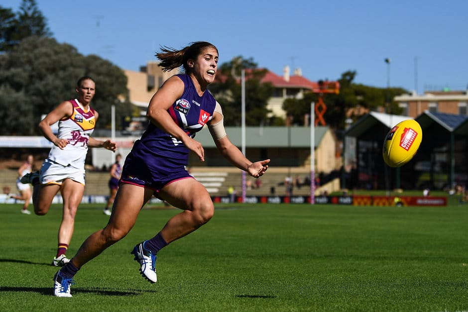 Fremantle forward Gabby O'Sullivan has been handed a one-match suspension for striking. - Fremantle,Fremantle Dockers,Gabby O'Sullivan